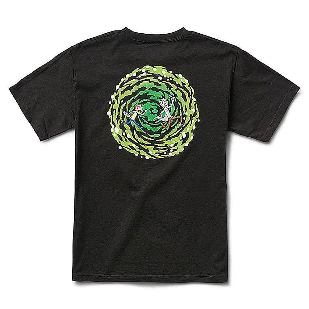 ac8c8e1ad7e9c Primitive X Rick Y Morty Hombre Nuevo Portal Camiseta Negra Ropa Apparel T  Tee Shirts T Shirt Shirts From Biyue2