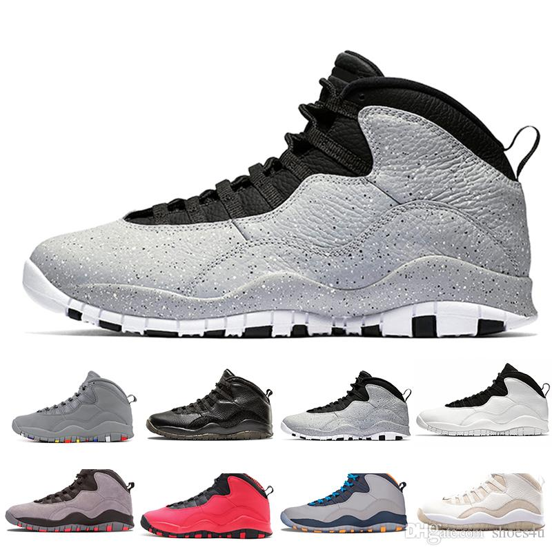db9a28509d6a 10 10s Westbrook Cool Grey I M Back Men Basketball Shoes Drake Bobcats  Stealth Mens Sports Sneakers Trainers Outdoor Designer Running Shoes  Basketball Shoes ...