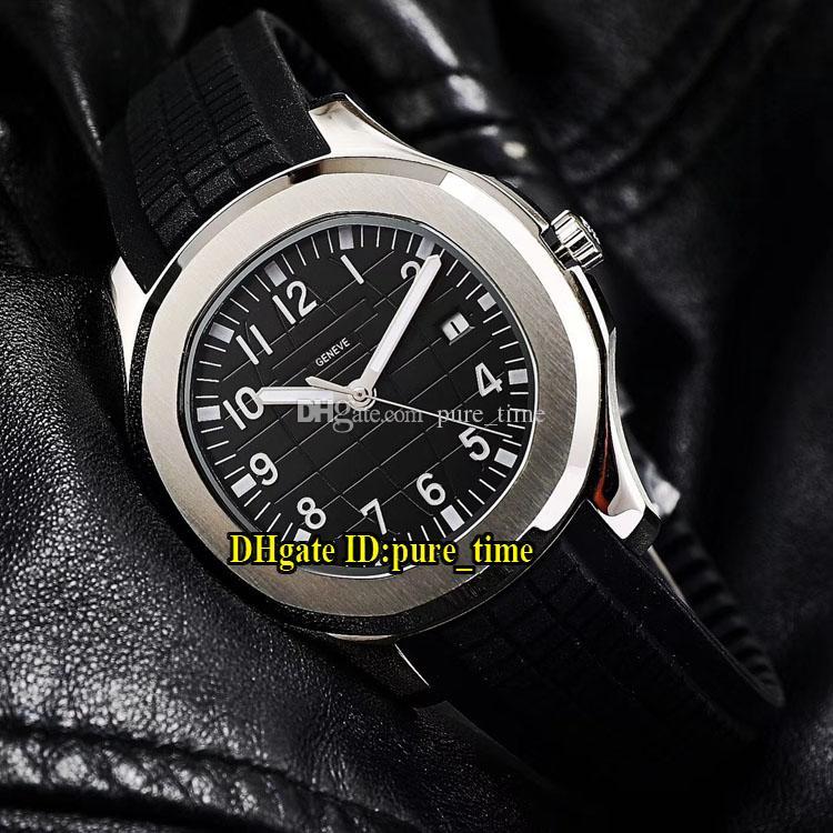 Sport Aquanaut 40mm 5167A Gris Dial 5168 Asiático 2813 Reloj automático para hombre 316L Caja de acero Gris Correa de caucho Relojes de alta calidad