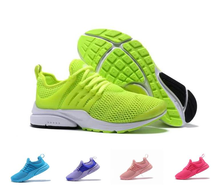 new style aef58 dbea9 Women Prestos 5 Running Shoes chaussure femme Mesh Presto Ultra BR QS  Yellow Pink Oreo Outdoor Jogging Sneakers Size 36-40