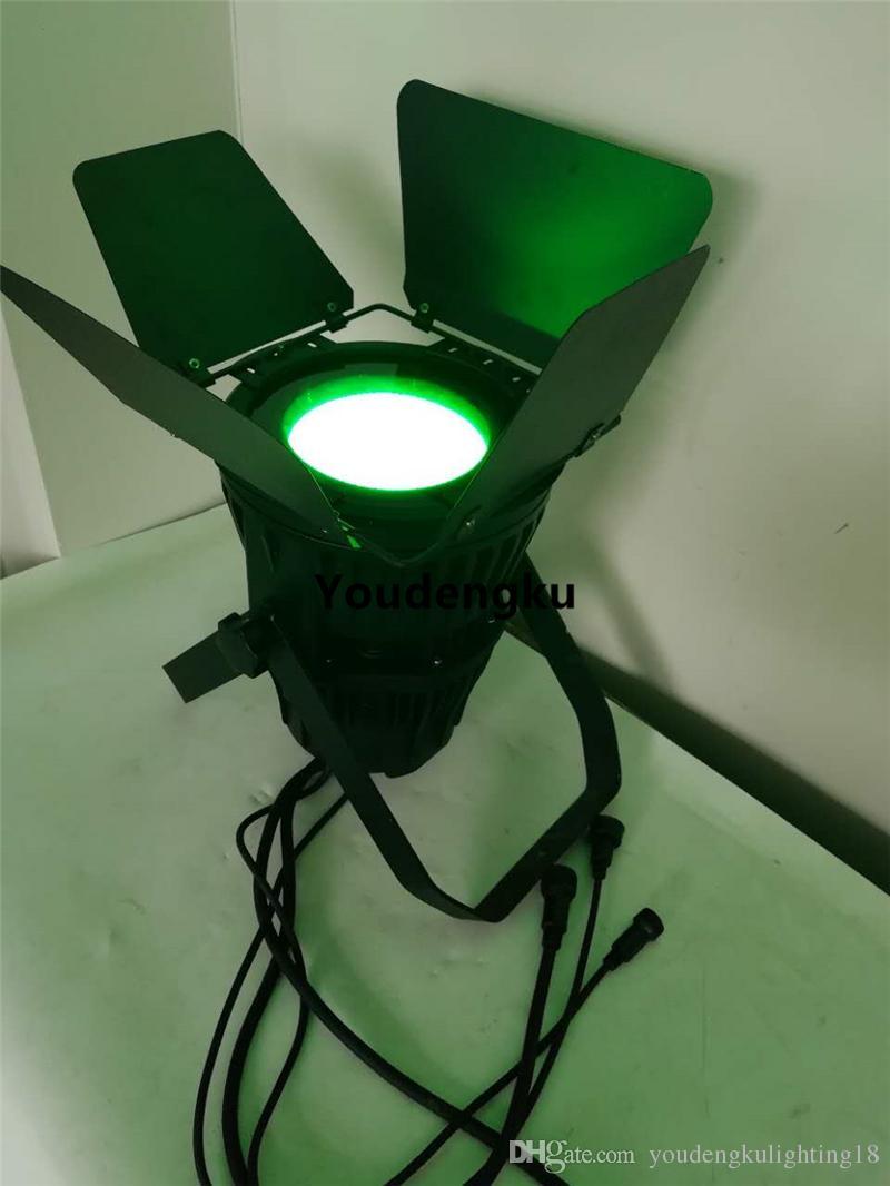 4 Stück wasserdicht cob par LED-Leuchten 200W cob RGBWA uv 6 in 1 PAR64 IP65 im Freien geführte par DMX