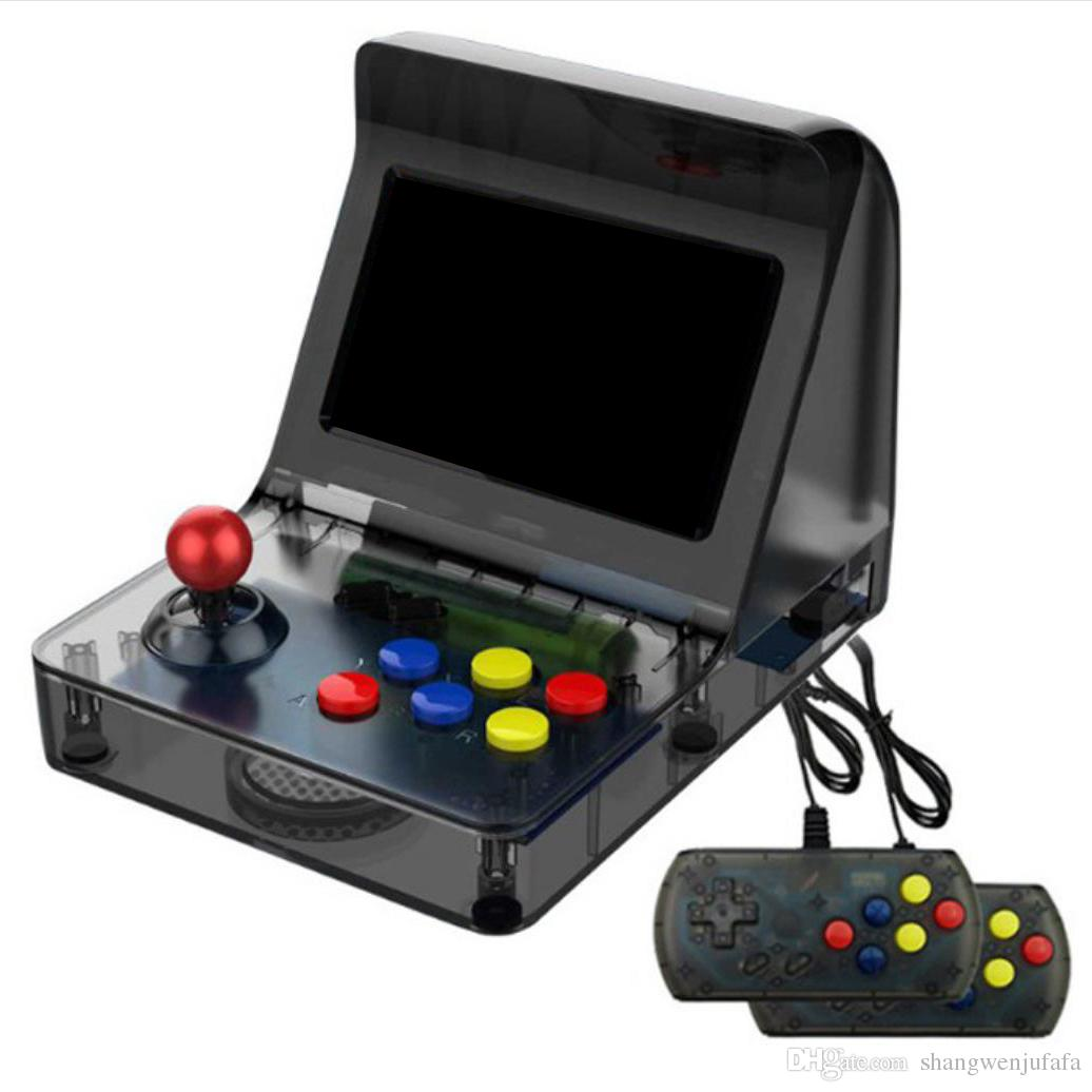 da20c30c276c RS 07 Retro MRetro Mini Arcade Machine With 3000 Classic Video Games 2  Player Raspberry USB Plug And Play Game Cabinet Console With Portable Game  Portable ...