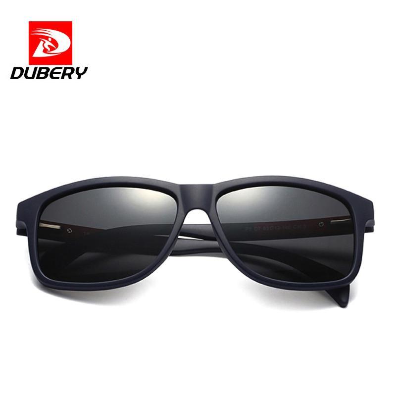 Compre Dubery 2018 Original Óculos De Sol Dos Homens Design Da Marca Tr90  Quadro Óculos De Sol Para Homens Moda Clássico Uv400 Espelho Quadrado  Eyewear P8 ... 4648686d2d