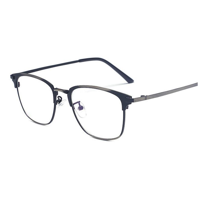 fc9f631536 Fashion Mens Optical Glasses Frames Classic Square Wrap Frame Luxury ...
