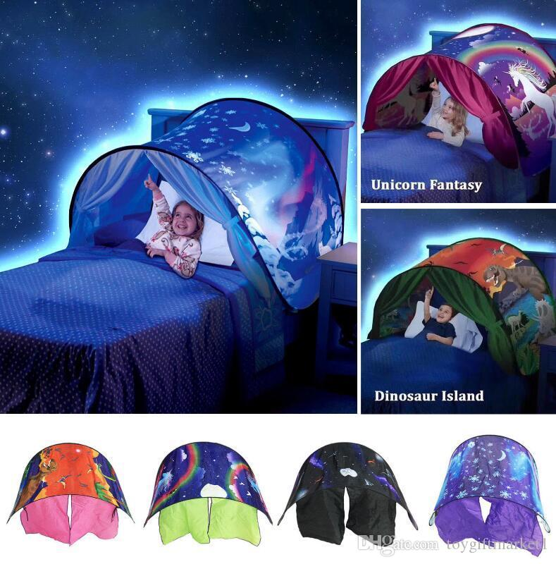 Kid Baby Dream Tent Fantasy Foldable Unicorn Moon White Clouds Cosmic Space Snow Tent Fancy Sleeping Prop Without Night Light Aussie Crib Tent Crib Reviews ... & Kid Baby Dream Tent Fantasy Foldable Unicorn Moon White Clouds ...