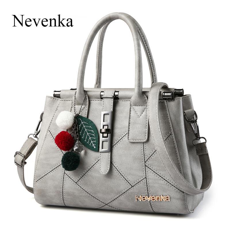 6f93d5fa7b35 Nevenka Fashion Woman Handbag Top Handle Shoulder Bags PU Leather Evening  Frame Spring New Handbags Designer Famous Brand Sac Leather Bags Designer  Purses ...