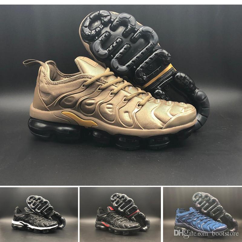 1e90b90cc 2018 NEW TN Plus Olive In Metallic White Silver Colorways Shoes Men ...