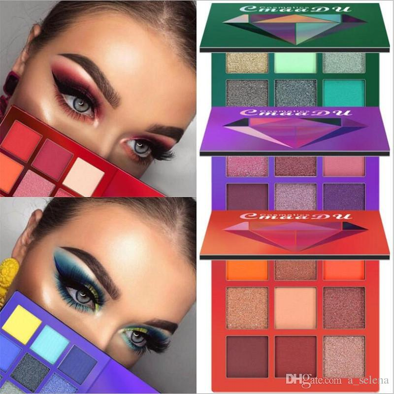 2018 CmaaDu Eyes Makeup Brand Beauty Diamond Eyeshadow Palette Mini Eyeshadow Palette 5 Styles Star Colors Eye Shadow How To Put On Eyeshadow Makeup For ...