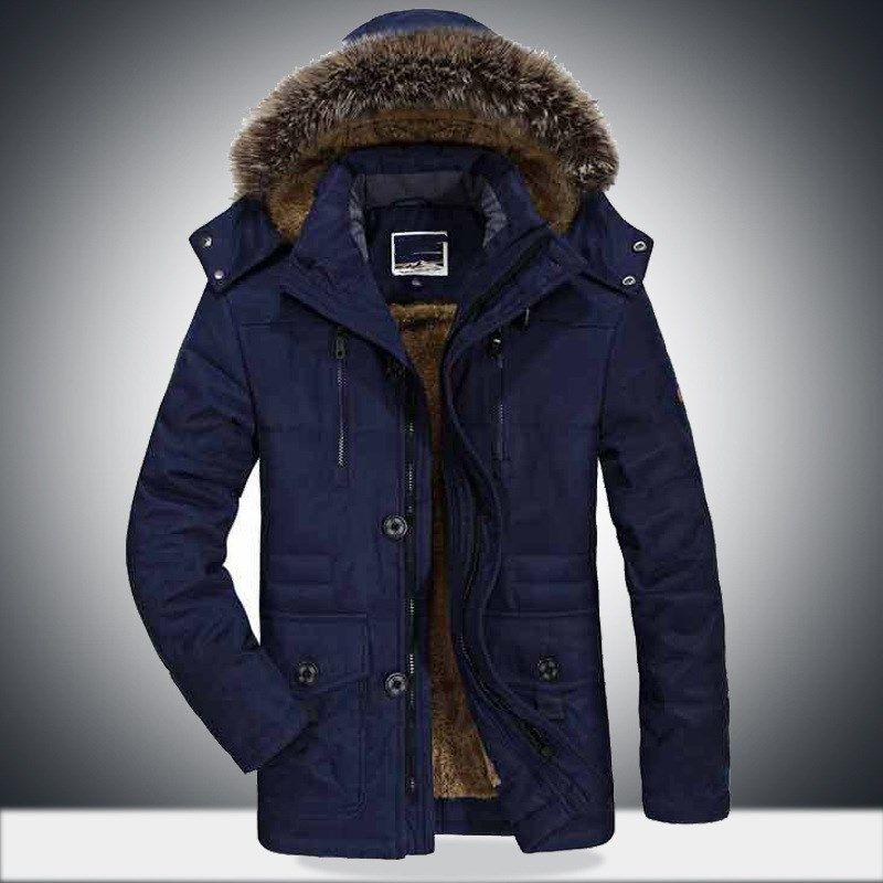 993b4aff908e8 Plus Size 5XL 6XL FALL Winter Jacket Men Plus Velvet Warm Windproof Hood  Parka Mens Jackets And Coats Windbreaker Coat Jaqueta UK 2019 From  Buttonline