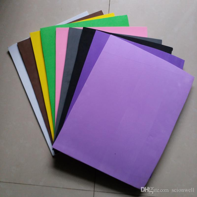 2019 Free Shipment 2mm Eva Foam Different Color Craft Sheets School