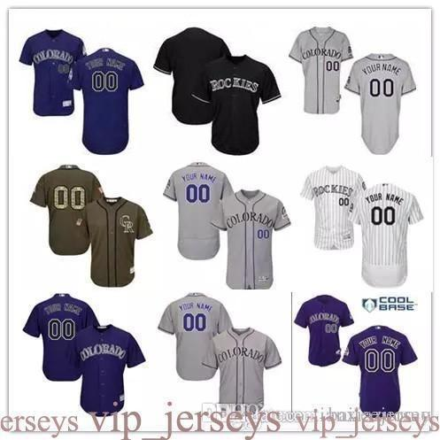 2016 Flexbase Custom Herren Co COOL BASE Authentic Kollektion personalisierte doppelt genähte Baseball Jersey Größe S-3XL