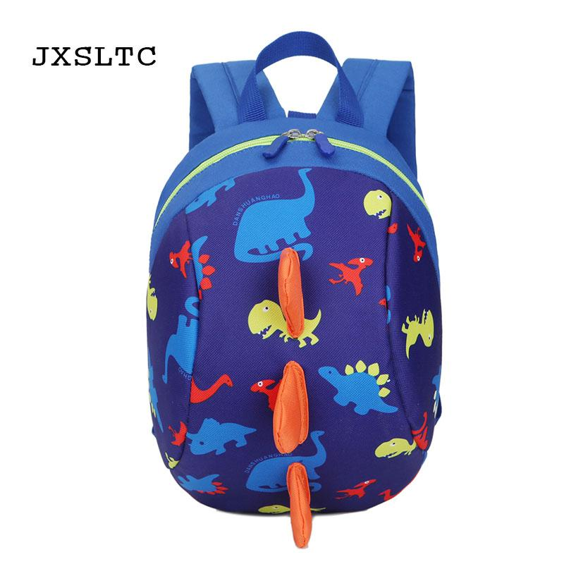 adbdb606abf JXSLTC 2018 New Children s School Bag Cute Dinosaur Cartoon Kindergarten  Girls Boys Kid Backpack Anti Lost Schoolbags Backpacks For Kids Bookbag  From ...