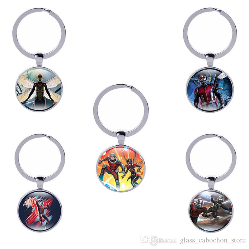 Ant Man And the Wasp Keychains 23 Style Hot Movie Keyrings Car ... f3101921d3