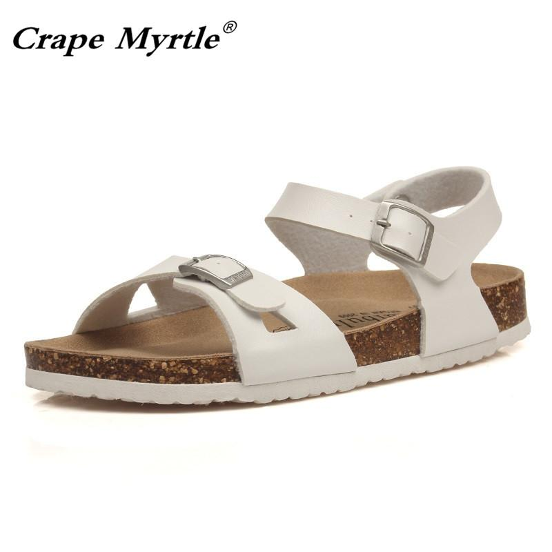 aff5cee13 2019 New Fashion Cork Sandals Women Summer Beach Sandals Floral Flower  Silver Bringt Casual Flat Sweet Shoe Pink Loafers For Women Clogs For Women  From ...