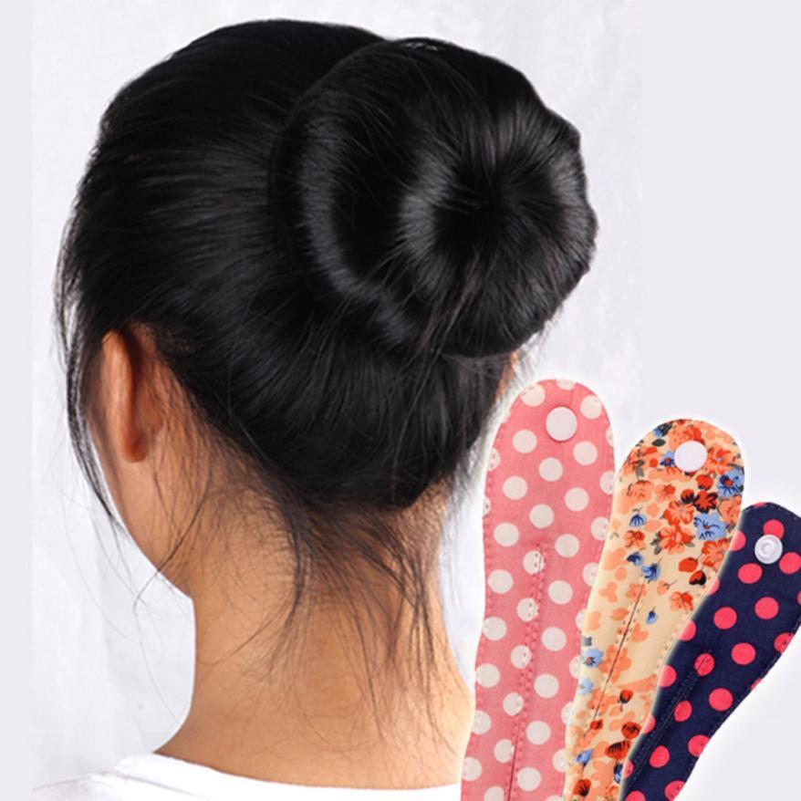 New Women Girls Lady Fashion Magic Cloth Hair Twist Styling Clip