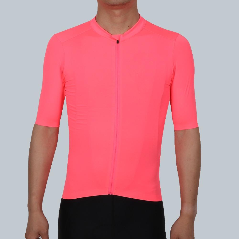 SPEXCEL 2018 NEW Fluorescence Pink PRO TEAM AERO 2 Cycling Jersey Short  Sleeve Men Women Newest Technology Fabric Best Quality Mountain Bikes  Cycling From ... ec857aa97