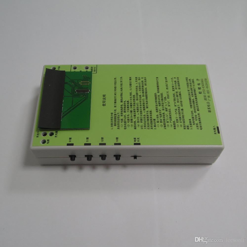 Novo para iphone 7 lcd tester lcd digitador display e teste de tela de toque com PCB Board + Bateria DHL grátis