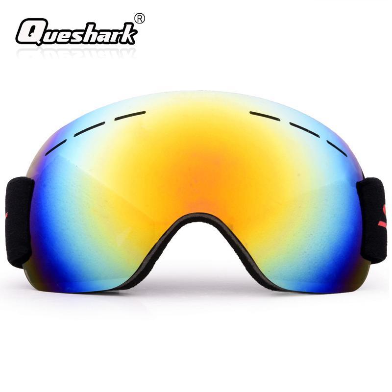 3ca5ce70dd4c Men Women Adult Winter Climbing Snow Glasses Ski Goggles Anti-fog Sandproof  Large Spherical Snowboard Skiing Glasses Skiing Eyewear Cheap Skiing  Eyewear Men ...
