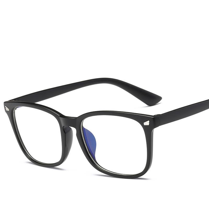 02df62fdaba Spectacle Plain Glasses Women Men Square Glasses Frame Female Brand ...