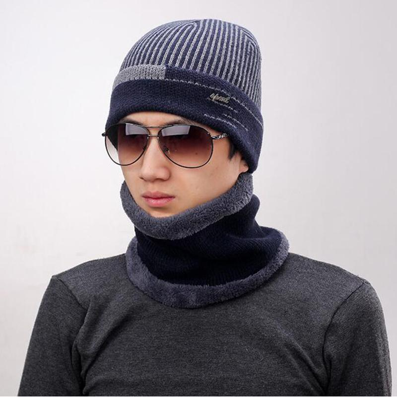 2019 2017 Winter Beanie Burst Knitted Hat Men S Autumn And Winter Models  Two Piece Ladies Hats Cap Men Hat Balaclava From Teawulong f65f560846b