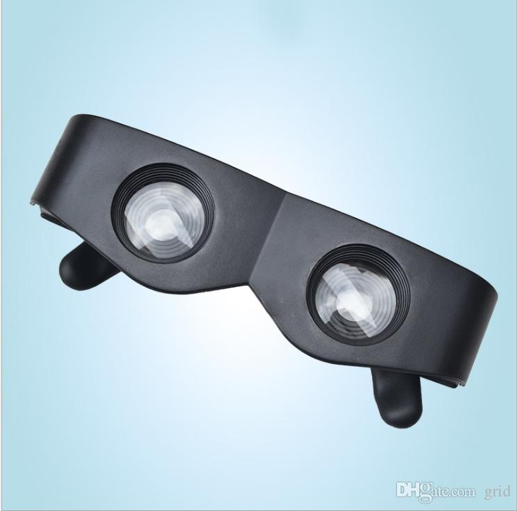 Hot Selling Black High Quality Fishing telescope 3x28 Magnifier Glasses Style Outdoor Fishing Optics Binoculars Telescope