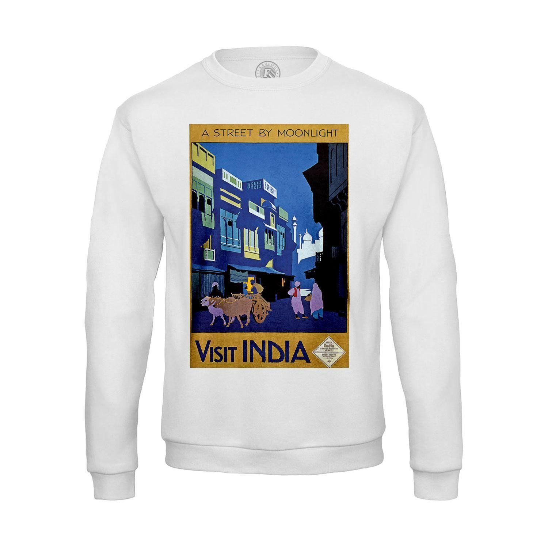 timeless design great prices best loved Sweat-shirt Homme Visit India Inde Travel Voyage Original Vintage