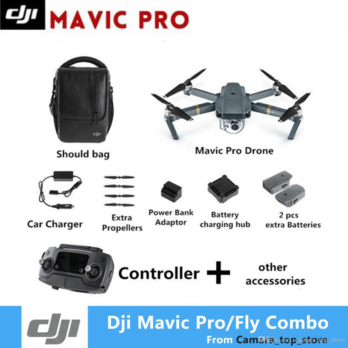 DJI Mavic pro fly more combo drone with 4K video 1080p camera rc helicopter Original Brand new in stock