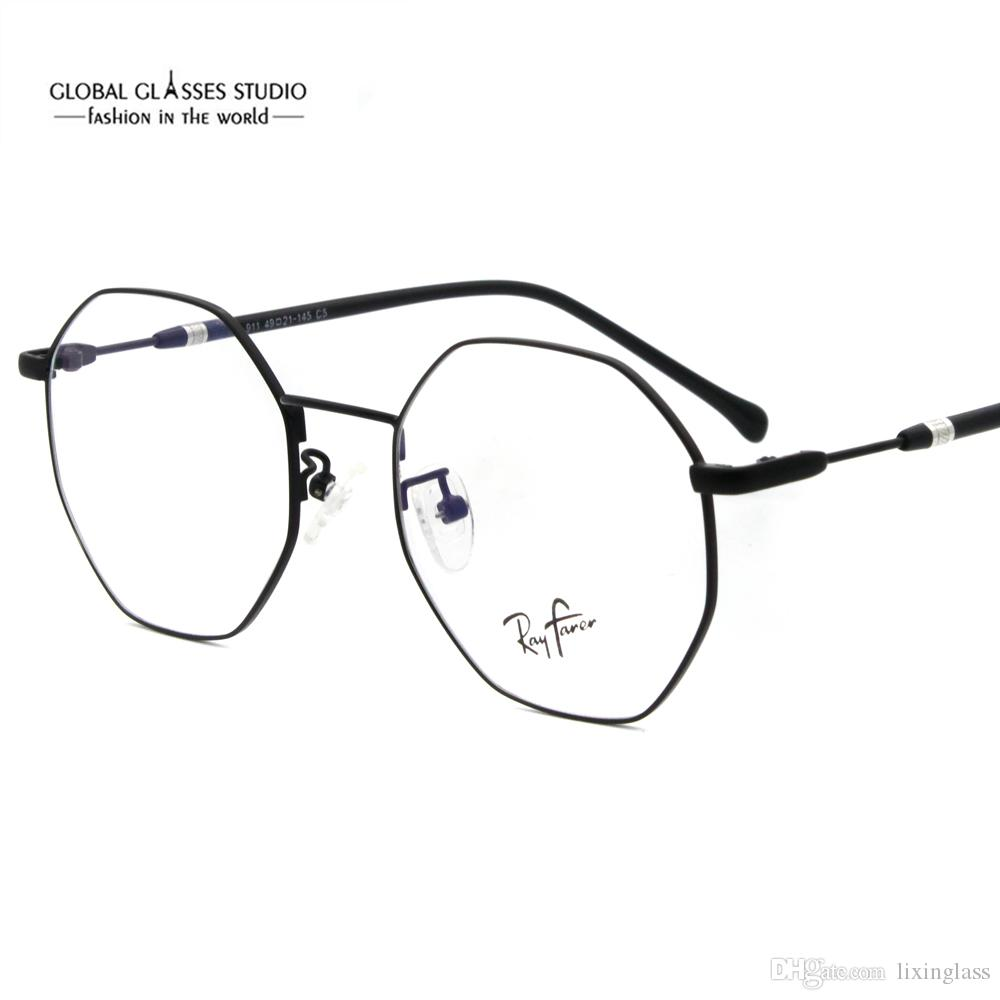 178c908b70 New Fashion Round Shape Designer Metal Material With PC Temples For ...