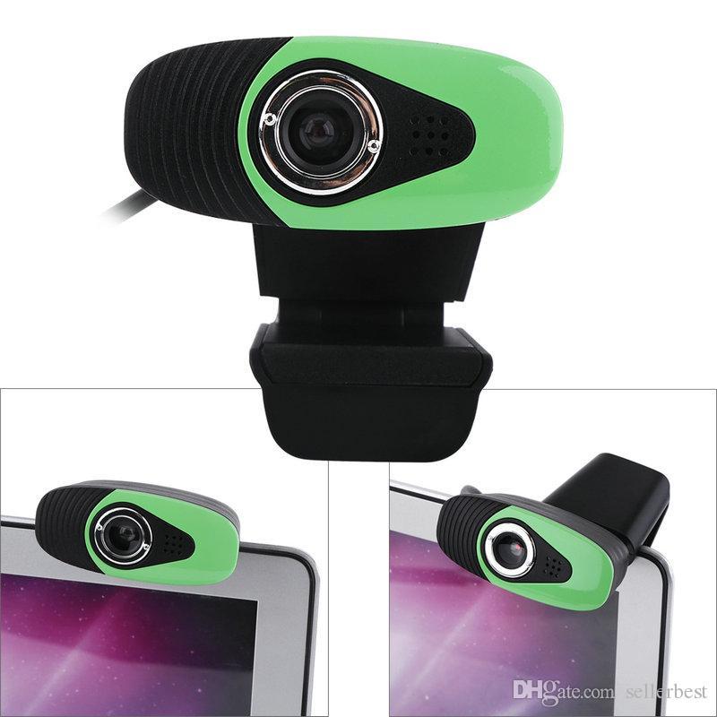 HXSJ A871 Clip-on de 360 Graus USB 12 Megapixel HD Web Camera com Microfone para o Computador Webcam para Notebook Laptop Desktop