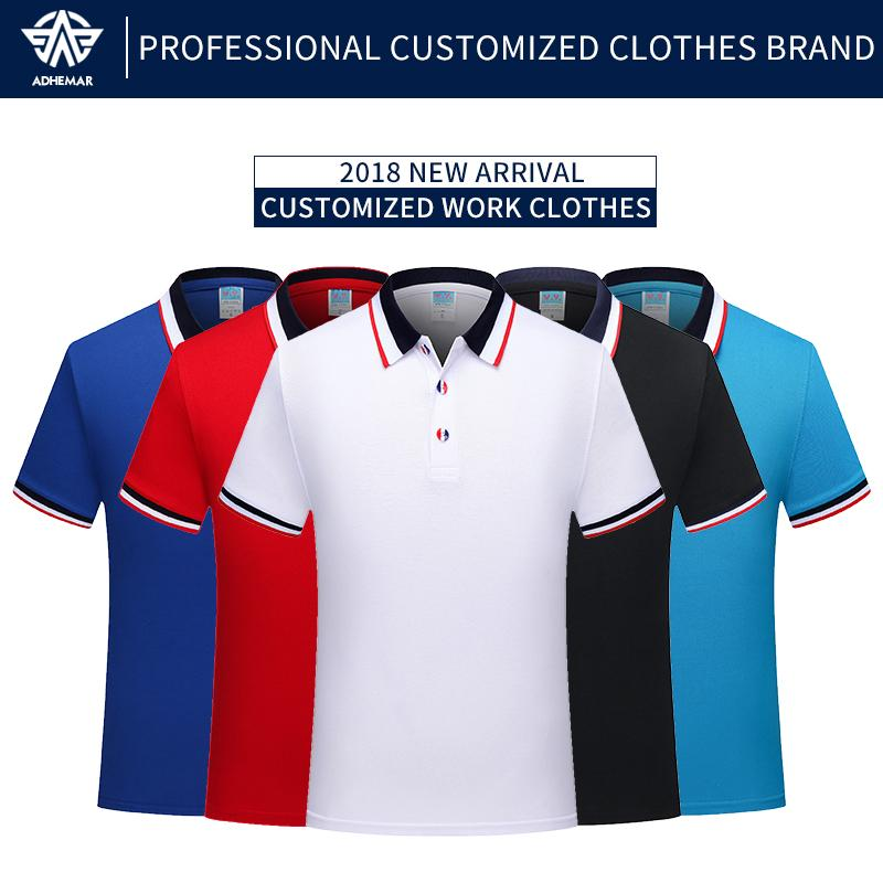 dfd4aa3e2 2019 Adhemar Breathable Polo Shirt For Work Fashionable Top Clothes With  Collar For Business And Sports From Miaoshakuai, $36.05 | DHgate.Com