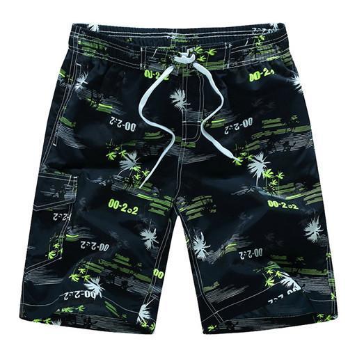 Men's Clothing Plus Size Mens Breathable Swim Trunks Leisure And Fashion Pants Swimwear Shorts Slim Wear Flower Printing Beach Short 4xl Elegant In Style