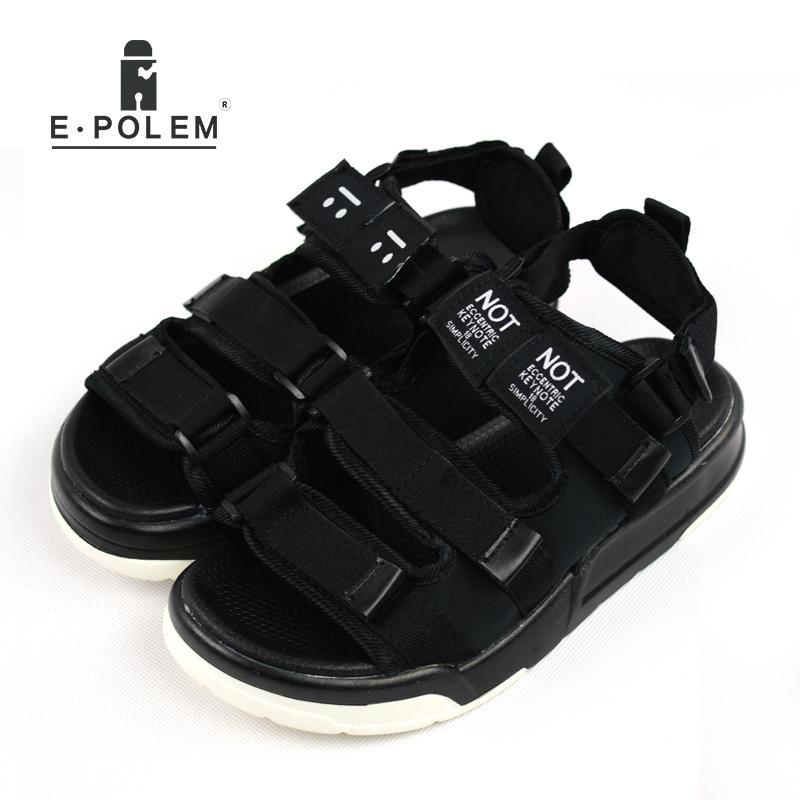 f0e8d8a92 2017 Men Summer New Style Black Joker Casual Breathable Sandals ...
