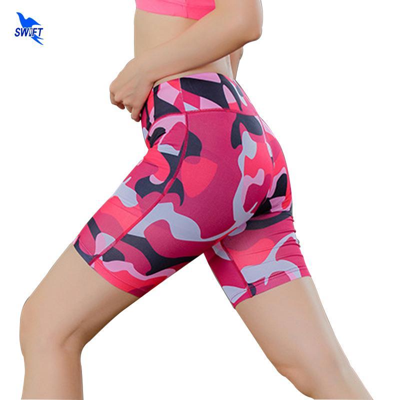Sport Compression Rapide Course Élasticité Femmes Acheter Shorts Haute Taille Sec Collants De Fitness Leggings Sexy Court Camo Gym D'entraînement Yoga wvBqy8vE