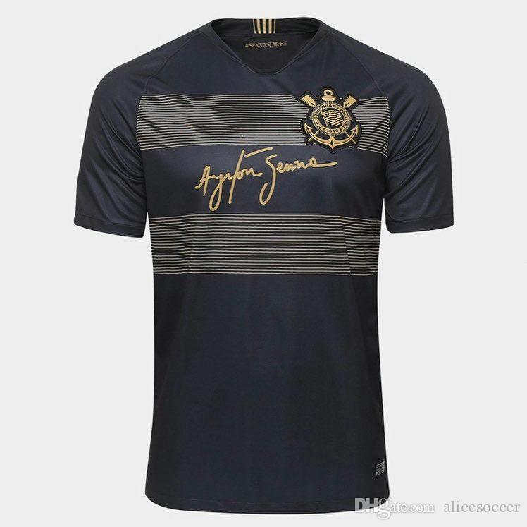 Venta Al Por Mayor 18 19 Camisetas De Fútbol Corintias TIMAO Hogar  Lejos Tercera Calidad AAA Nombre Personalizado Número Jo Camisetas De Fútbol  Por ... 9eb8632acb883