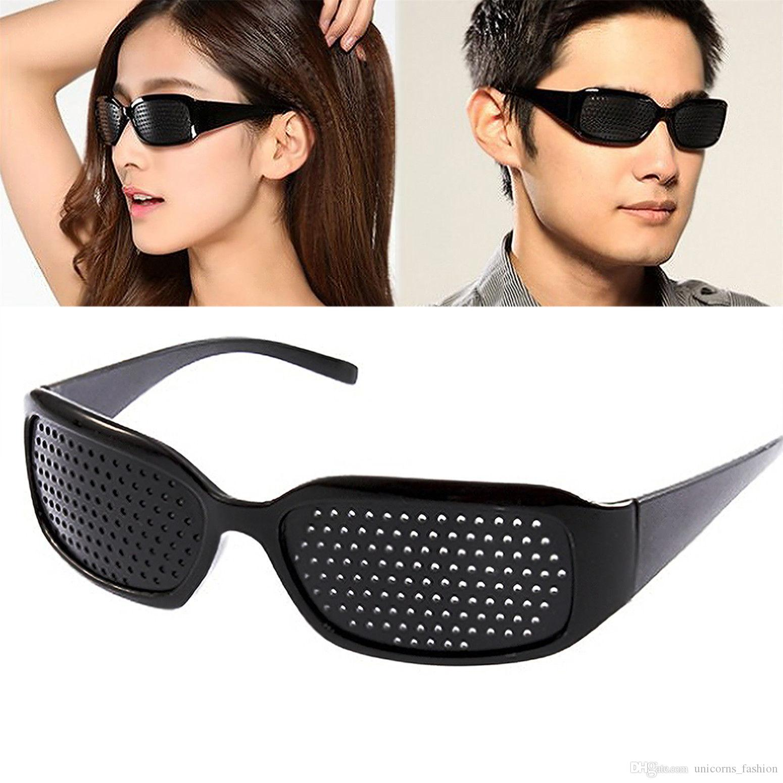 a803427356 Unisex Vision Care Pin Hole Eyeglasses Anti-fatigue Pinhole Glasses ...