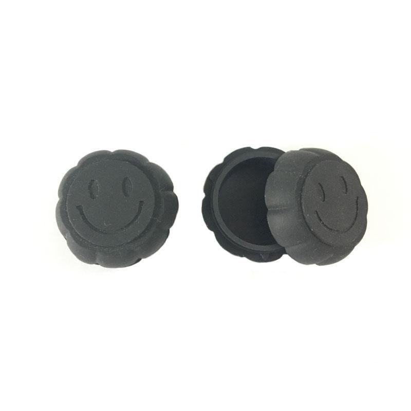 Nonstick 6ML Kürbis Cushaw geformte Wachsbehälter Silikon-Kasten-Silikon-Container Food Grade Gläser Werkzeugaufbewahrung Jar Öl-Halter für Vaporizer