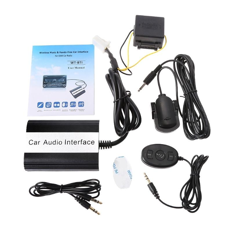 d82910d2637377 2019 Hot New 12 Pin Auto Car Bluetooth Music Handsfree Kits MP3 AUX Adapter  Interface USB Charging For Scion 2003 2011 From Tonethiny