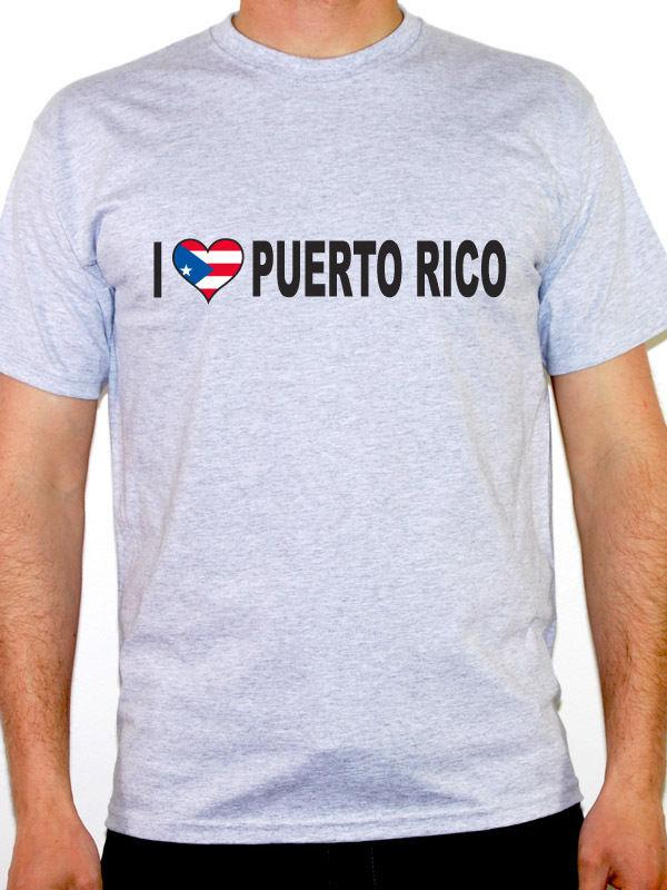f2cc67f25 I Love Puerto Rico T Shirt Mens Various Sizes And Colours Funny Unisex  Casual Tee Gift Men Shirts T Shirt Online From Elite_direct, $12.96|  DHgate.Com