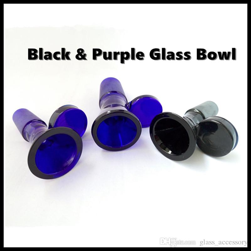Thick Glass Bong Slides Bowl Piece Dab Rig Male 18mm Bowls Pieces 14mm  Water Pipes Slide Smoking Pipes Wax Oil Rigs Heady Funnel