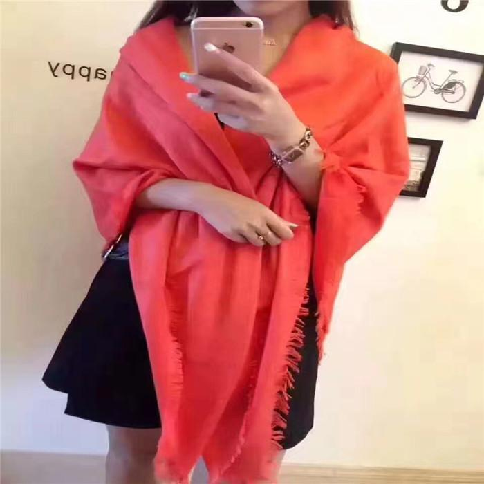 2018 New Fashion Square Scarf France Designer Scarf Women Wool Cotton Blanket Scarf Luxury Pashmina Wrap Shawls Monogram Scarves 140*140cm