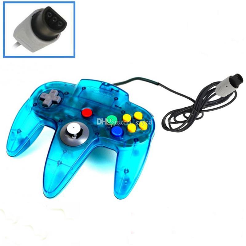 Sistema de joystick de controlador de juego largo para la consola Nintendo 64 N64 sin embalaje al por menor