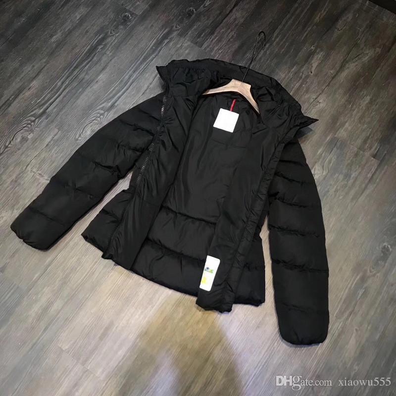 New M Women White Duck Down Coat Super light soft Down Jacket Fashion Down Parkas White Black Color