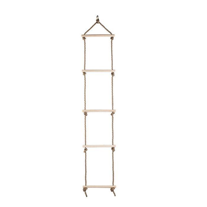 Obcanoe Rope Ladder Sturdy Indoor Outdoor Climbling Nylon Ladder