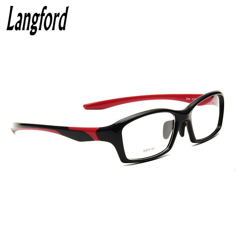 d9bc0346b6 Langford Brand Big Face Glasses Frame Mens Optical Glasses Flexible ...