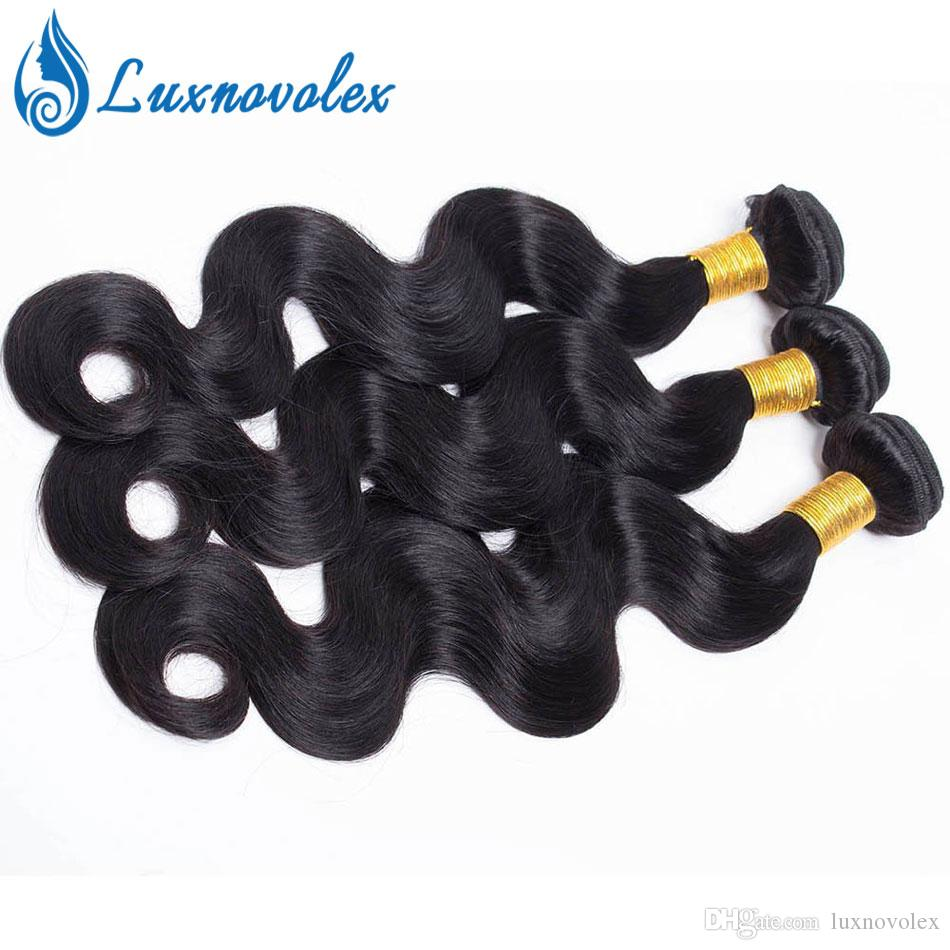 8A Brazilian Virgin Hair Bundles Body Wave Straight Water Wave Deep Wave Kinky Curly Human Hair Peruvian Malaysian Hair Weave Bundles Cheap