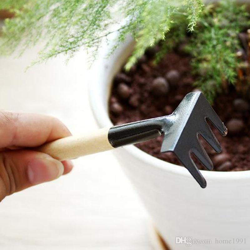 New Garden Flower Planting Tool Garden Tools Mini Shovel Harrows Spade Potted Plants Gardener Kit
