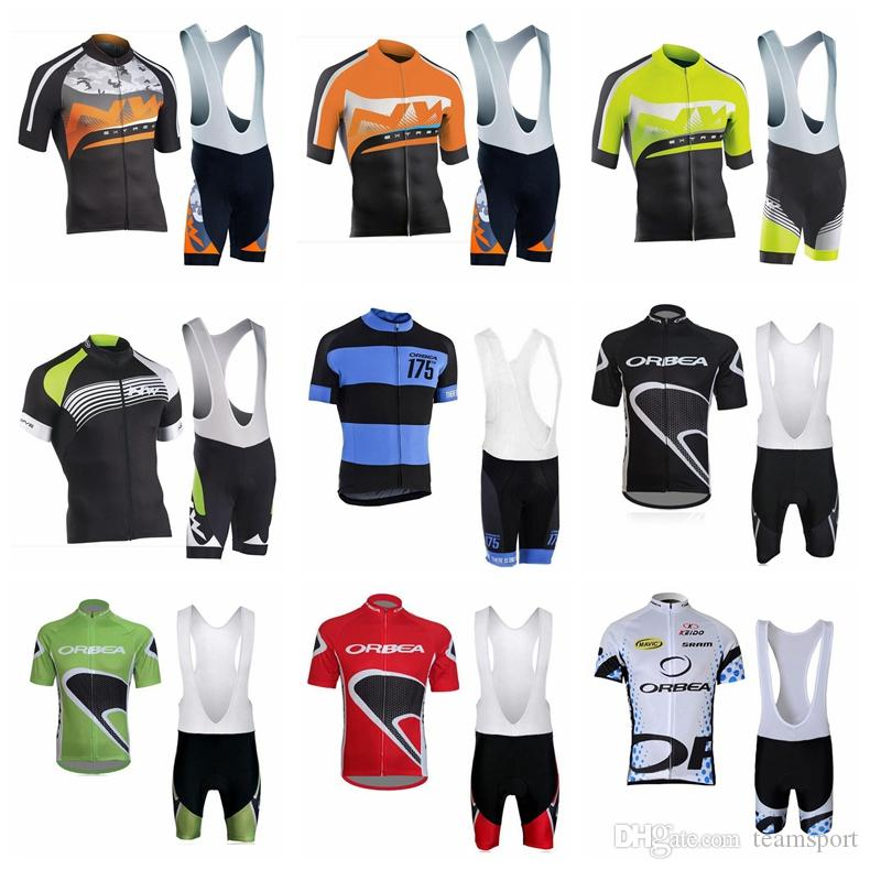 NW ORBEA Team Cycling Short Sleeves Jersey Bib Shorts Sets New Men High  Quality Summer Racing Mountain Bike Riding Short Sets 841316 Bike Shirt  Cycling ... 2794fb45b