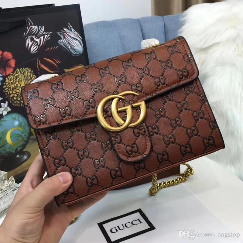 Luxury Bag Designer Handbag Counter Synchronize Embossed Leather Shoulder  Bags for Women Clutch Bag Fashion Bag with Box Designer Handbags Luxury  Bags Women ... 12b987d92f926