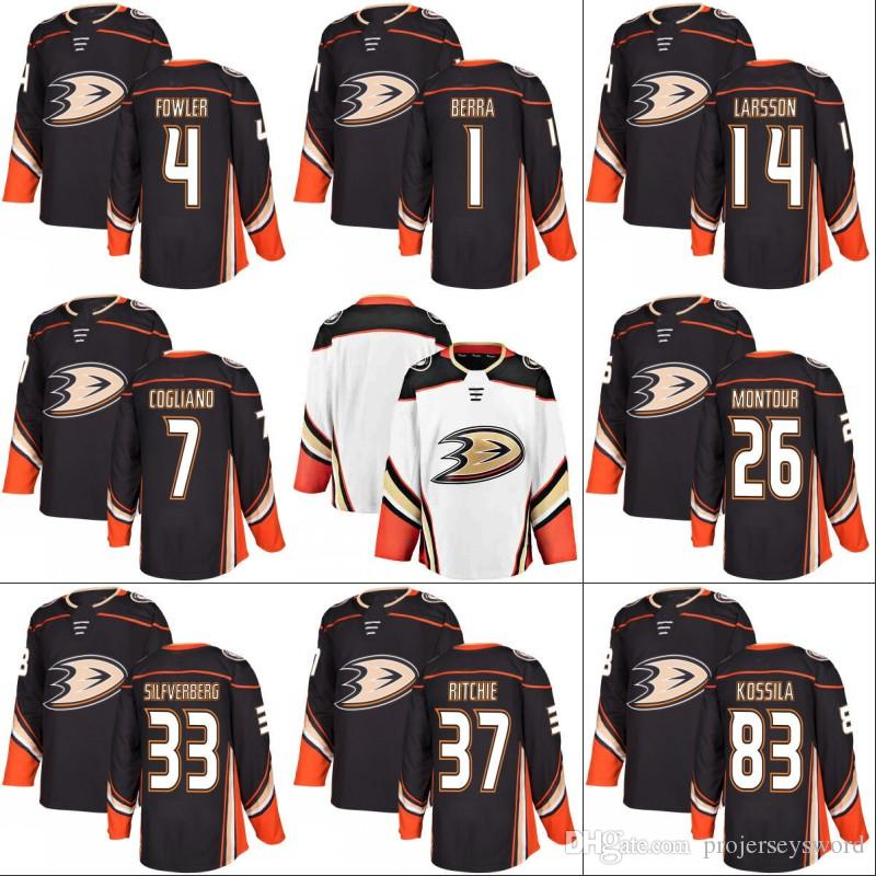 finest selection 8b2f4 aab07 #14 Adam Henrique 2017-18 Anaheim Ducks Jersey 15 Ryan Getzlaf 26 Brandon  Montour 36 John Gibson 83 Kalle Kossila Hockey Jerseys S-5XL