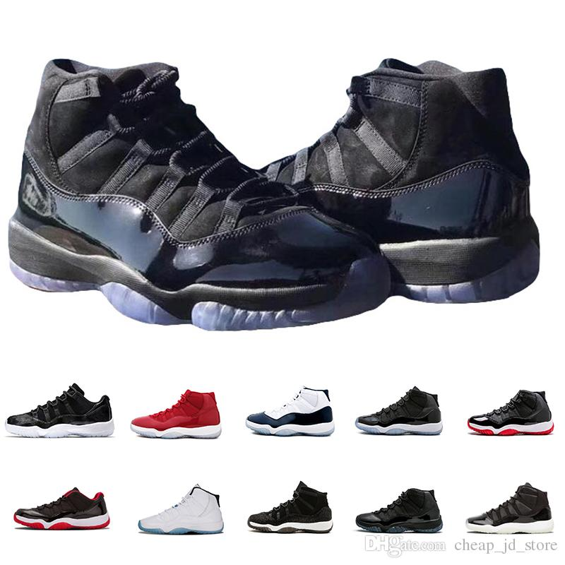 c423d06f491edb 2019 Prom Night 11 11s Basketball Shoes Georgetown Concord Bred Closing  Ceremony Cool Grey Gamma Blue Sport Sneakers 36 47 Jordans Running Shoes  From ...